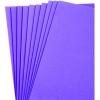 Foam Sheet (Eva) 9'' x 12'' Purple - Pack of 10 pieces